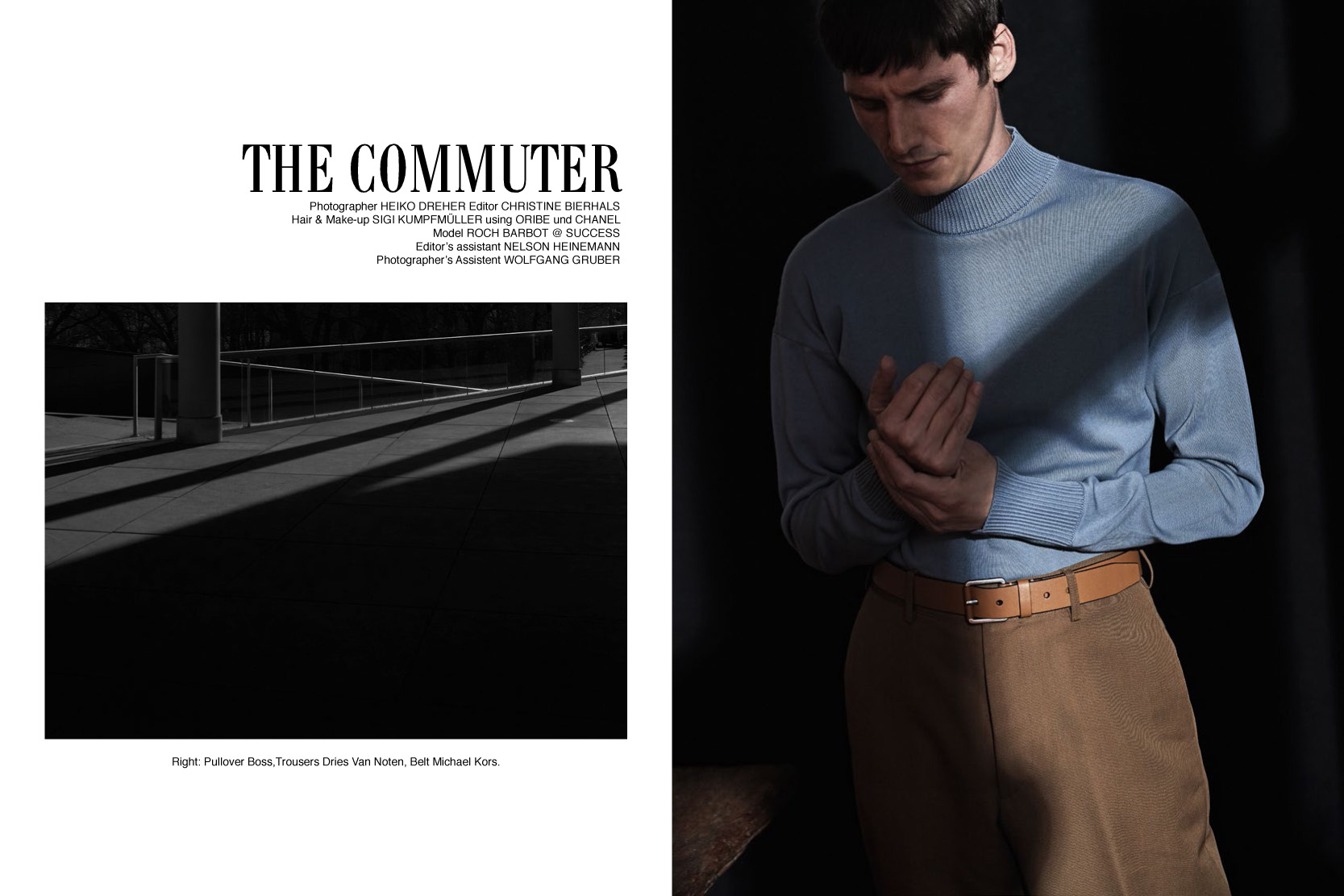 THE COMMUTER. SUPPLEMENT NZZ. CREATIVE DIRECTION.